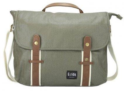 G.RIDE taška BETTY khaki  + LED svítilna