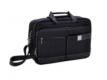 Titan Power Pack Laptop Bag L Black  + Sluchátka, myš nebo pouzdro