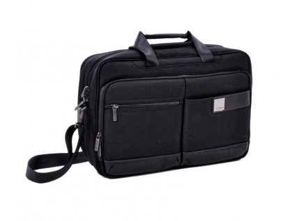 Titan Power Pack Laptop Bag L Black  + LED svítilna