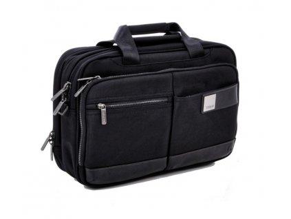 Titan Power Pack Laptop Bag S Black  + LED svítilna