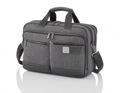 Titan Power Pack Laptop Bag S Anthracite  + LED svítilna