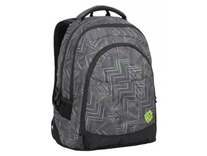 Bagmaster DIGITAL 7 C BLACK/GREEN/GREY  + LED svítilna