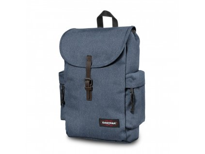 EASTPAK AUSTIN DOUBLE DENIM  + LED svítilna