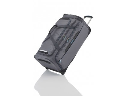 Travelite CrossLITE Wheeled duffle L Anthracite  + LED svítilna