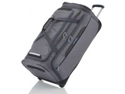 Travelite CrossLITE Wheeled duffle M Anthracite  + LED svítilna