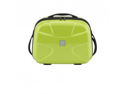 Titan X2 Beauty Case Lime Green  + LED svítilna