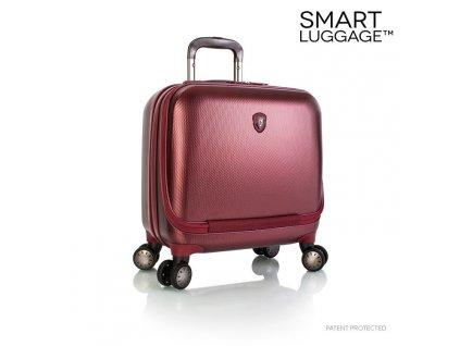 Heys Portal SmartBusiness Case Burgundy  + Sluchátka, myš nebo pouzdro
