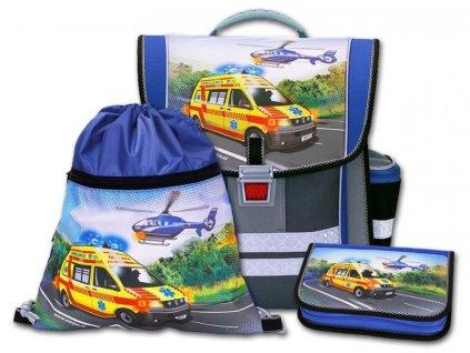 Školní aktovkový set Záchranáři 3-dílný