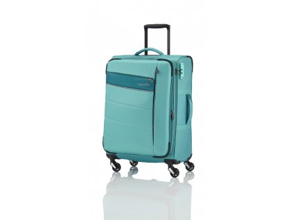 Travelite Kite 4w S,M,L Mint – sada 3 kufrů + BB  + Sluchátka, myš nebo pouzdro