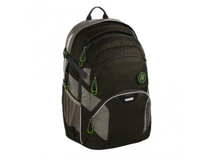 Školní batoh Coocazoo JobJobber2, Solid Woodsman  + LED svítilna