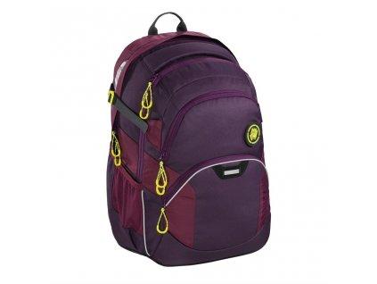 Školní batoh Coocazoo JobJobber2, Solid Berryman  + 5 % sleva po registraci + LED svítilna