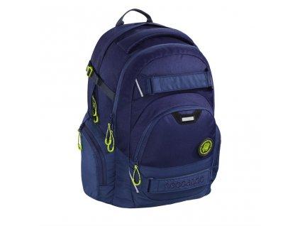 Školní batoh Coocazoo CarryLarry2, Solid Seaman  + Sluchátka, myš nebo pouzdro
