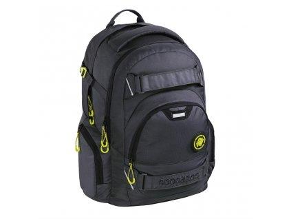 Školní batoh Coocazoo CarryLarry2, Solid Shadowman  + 5 % sleva po registraci + LED svítilna