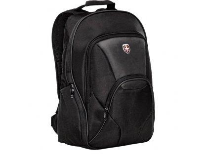 Ellehammer Copenhagen ''Deluxe'', notebookový batoh, černý  + Sluchátka, myš nebo pouzdro