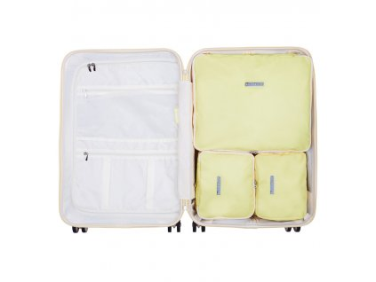 Sada obalů SUITSUIT® Perfect Packing system vel. M Mango Cream