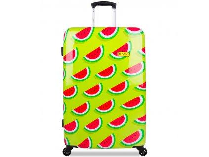 Cestovní kufr B.HPPY BH-1606/3-L - Two In A Melon  + Sluchátka, myš nebo pouzdro