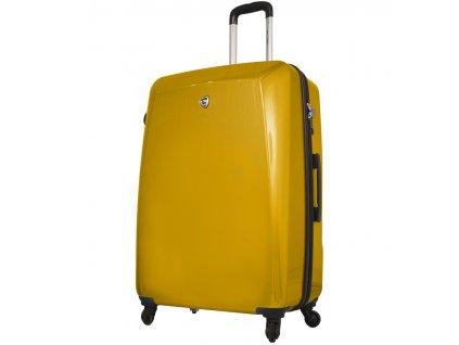 Cestovní kufr MIA TORO M1015/3-L - žlutá  + LED svítilna