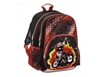 HAMA Školní batoh pro prvňáčky, Motorka