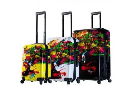 Sada cestovních kufrů MIA TORO M1097/3  + LED svítilna