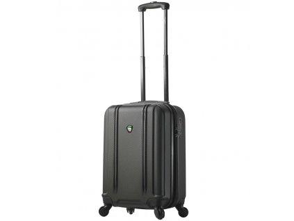 Kabinové zavazadlo MIA TORO M1210/3-S - černá  + LED svítilna