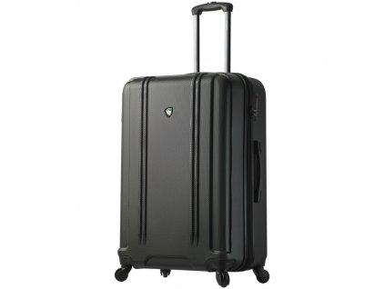 Cestovní kufr MIA TORO M1210/3-L - černá  + LED čelová svítilna