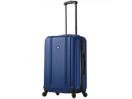 Cestovní kufr MIA TORO M1210/3-M - modrá  + LED svítilna