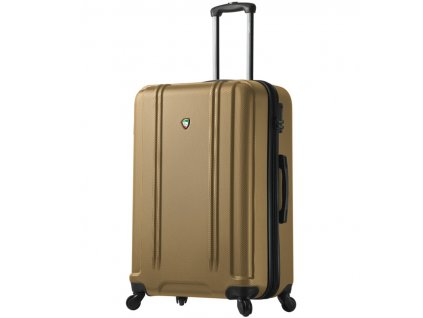 Cestovní kufr MIA TORO M1210/3-L - zlatá  + LED svítilna