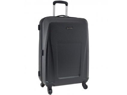 Cestovní kufr CITIES T-125/3-L ABS - černá  + Sluchátka, myš nebo pouzdro