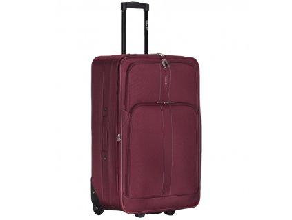 Kabinové zavazadlo CITIES T-605/4-S - vínová