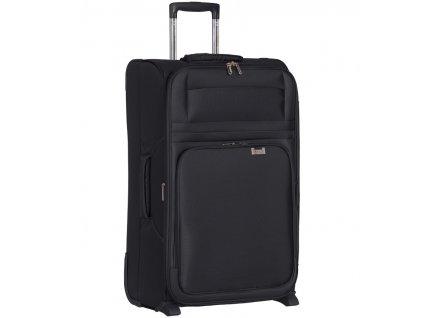 Cestovní kufr AEROLITE T-9515/3-M - černá  + LED svítilna