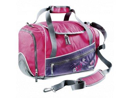 Deuter_Hopper_blueberry_butterfly_-_cestovní_taška