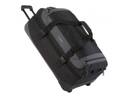 Travelite Basics Double-decker Travel Bag Black  + Sluchátka, myš nebo pouzdro