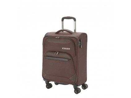 Travelite Kendo 4w S Brown  + Sluchátka, myš nebo pouzdro