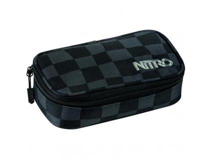 NITRO penál PENCIL CASE XL checker