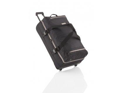 Travelite Basics Doubledecker on wheels Black  + Sluchátka, myš nebo pouzdro