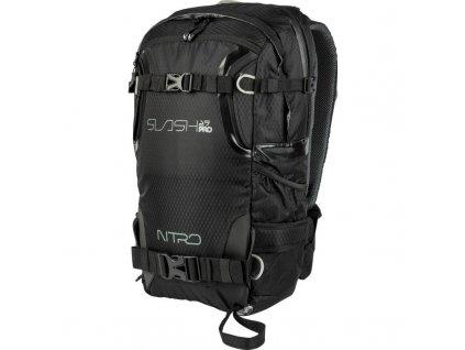 NITRO batoh SLASH 25 jet black  + LED svítilna
