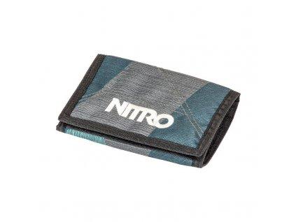 NITRO peněženka WALLET fragments green