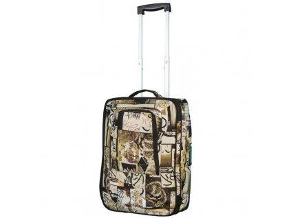 NITRO taška TEAM CARRY ON BAG berlin graffiti  + Sluchátka, myš nebo pouzdro