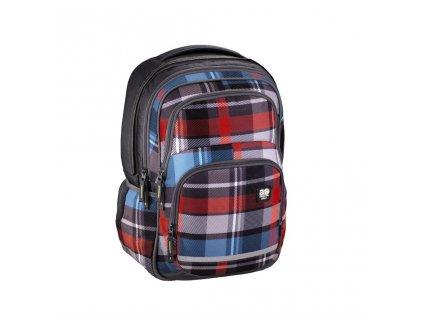 Školní batoh All Out Blaby, Woody Grey  + LED svítilna