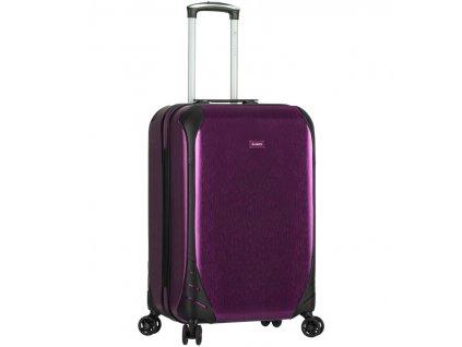 Kabinové zavazadlo SIROCCO T-1159/3-S PC - fialová  + Sluchátka, myš nebo pouzdro