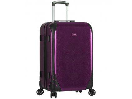 Cestovní kufr SIROCCO T-1159/3-L PC - fialová  + Sluchátka, myš nebo pouzdro