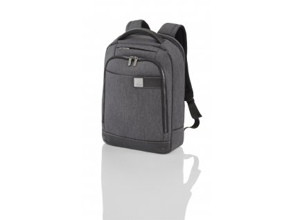 Titan Power Pack Backpack Slim Anthracite  + LED svítilna