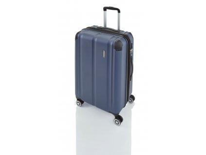 Travelite City 4w S,M,L Navy – sada 3 kufrů  + LED svítilna