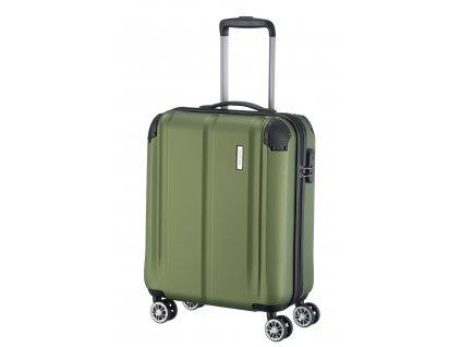Travelite City 4w S Green  + Sluchátka, myš nebo pouzdro