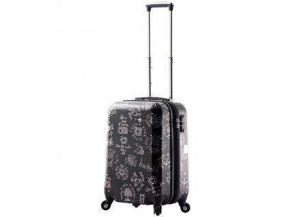 Kabinové zavazadlo MIA TORO M1089/3-S - černá  + LED svítilna