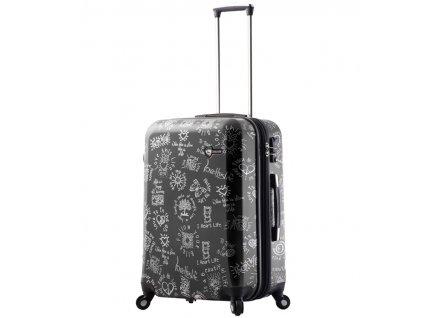 Cestovní kufr MIA TORO M1089/3-M - černá  + Sluchátka, myš nebo pouzdro