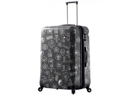 Cestovní kufr MIA TORO M1089/3-L - černá  + Sluchátka, myš nebo pouzdro