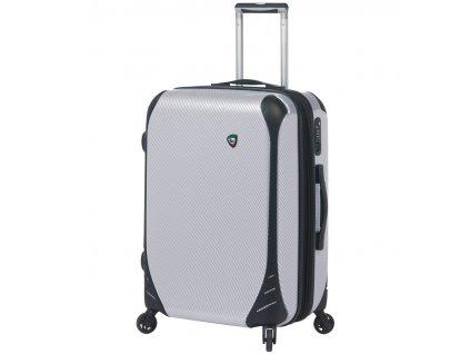 Cestovní kufr MIA TORO M1021/3-M - bílá  + Sluchátka, myš nebo pouzdro