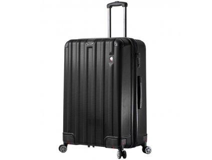 Cestovní kufr MIA TORO M1300/3-L - černá  + Sluchátka, myš nebo pouzdro