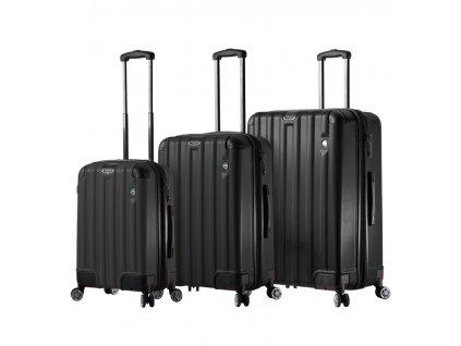 Sada cestovních kufrů MIA TORO M1300/3 - černá  + Sluchátka, myš nebo pouzdro